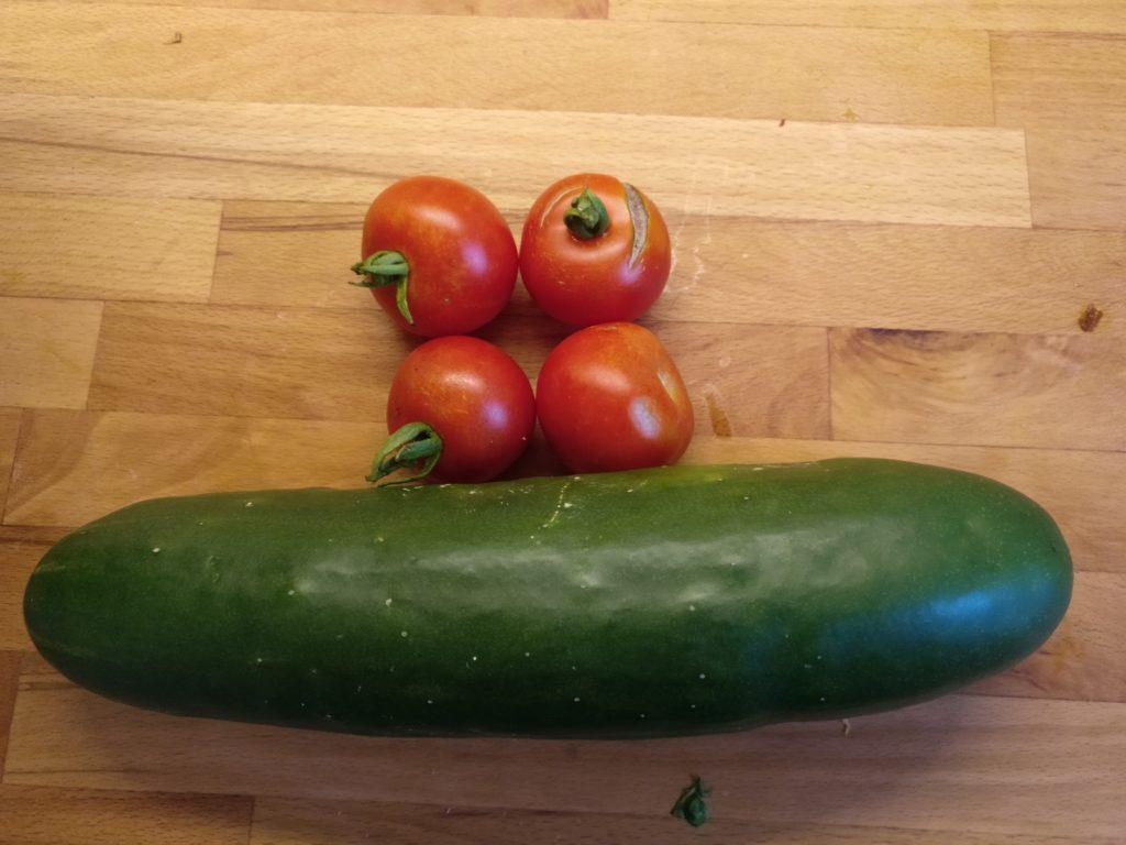 Erste Tomaten